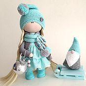 Неженка интерьерная куколка - купить или заказать в интернет-магазине на Ярмарке Мастеров | Куколка Неженка станет отличным подарком Для…