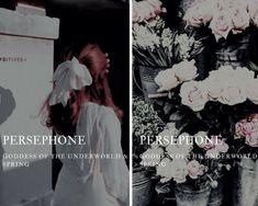 persephone (Περσεφόνη) - greek goddess of the underworld & spring - Trend Bts Quotes 2020 Greek Gods And Goddesses, Greek And Roman Mythology, Percy Jackson, Yasmine Galenorn, Goddess Of The Underworld, Goddess Names, Greek Names, Name Inspiration, Roman Gods