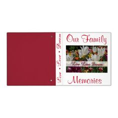 Our Family Memory Album Binder