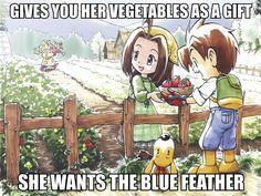 I love Harvest Moon
