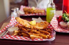 fish n' chips, pickerel - The One That Got Away, Toronto