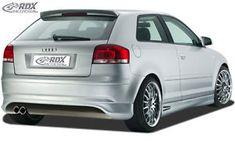RDX Heckansatz Audi a3 8p
