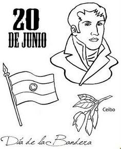 Fotos y dibujos para colorear día de la bandera argentina   Busco Imágenes Crochet, Mayo, Sketches, Facebook, Valentino, Blog, Ideas, Shape, National Flag