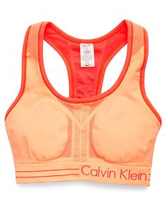 We tested 39 sports bras, and found the best eight, like this reversible Calvin Klein one.