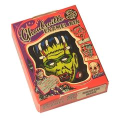 Purple Leopard Boutique - Lil' Frankie Frankenstein Enamel Pin Ghoulsville Monster Mask Collectable, $15.00 (https://www.purpleleopardboutique.com/lil-frankie-frankenstein-enamel-pin-ghoulsville-monster-mask-collectable/)
