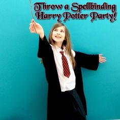 Ideas and inspiration on how to throw a magical Harry Potter party!