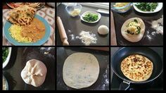 Recipe Garlic, Cheese & Spinach Naan - Thermomumma by _b_e_v_, learn to make this recipe easily in your kitchen machine and discover other Thermomix recipes in Breads & rolls. Indian Food Recipes, Paleo Recipes, Cooking Recipes, Ethnic Recipes, Garlic Cheese, Spinach And Cheese, Thermomix Bread, Bellini Recipe, Savoury Baking