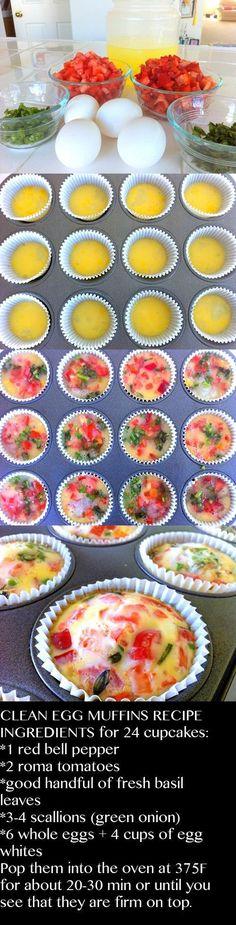 Clean Eating Egg Muffins - fantasticsausage