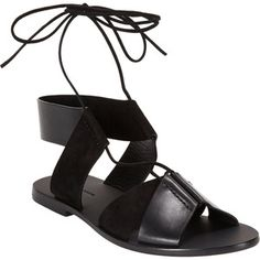 Alexander Wang Marlene Lace-up Sandals