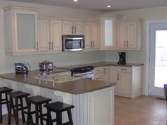 Winderemere Kitchen (TRA) - Cabinetsmith Canadian Made Kitchens and Bath manufactured in Barrie Ontario Canada Kitchen Gallery, Ontario, Kitchens, Kitchen Cabinets, Canada, Bath, Home Decor, Restaining Kitchen Cabinets, Bathing
