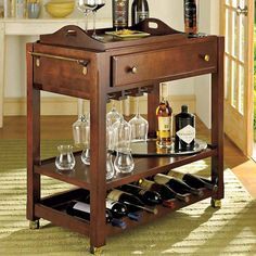 I pinned this Cortona Bar Cart from the Georgetown Brownstone event at Joss and Main!