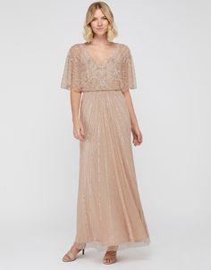 Tabitha Embellished Maxi Dress   Pink   UK 6 / US 2 / EU 34   7451131006   Monsoon Monsoon Dress, Line Shopping, Beautiful Dresses, Dress Outfits, Kids Fashion, Sequins, Stylish, Clothes, Monsoon Bridesmaid Dresses