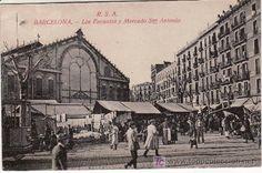 BARCELONA. LOS ENCANTES Y MERCADO DE SAN ANTONIO. - Foto 1