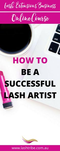 With a little hard work and a lot of commitment there is absolutely nothing standing in your way of becoming a confident and successful Lash Stylist with an amazing business that everyone is talking about. Learn how to have a profitable lash extensions business at http://lashtribe.com.au/online-training/signature-course/ | Lash Extensions Tips + Marketing Ideas | Lash Tribe Australia