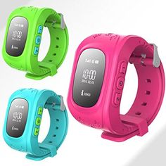Q50 Kids Security Monitor Anti-lost Safe GPS Smart Watch SOS Call Watch Wrist Watch Track Lost Monitor Baby for Android and IOS - Blue/Red/Green. Features: Two-way calls, SOS emergency call, GPS Tracker, Security Fence, HealthTracker, Voice Chat on App, Taken off alert etc. Precise Localization: Double position technology based on GPS + Local Base Station, achieving all day real-tim location tracking. Remote Monitor: Much more sensitive microphone. Monitoring all the sound around the…