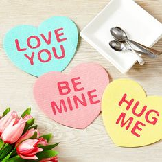 Valentine Crafts For Kids, Valentines Day Decorations, Valentine Day Kiss, Good Night Flowers, Dinner Dates, Honey Bunny, Dishcloth, Party Ideas, Gift Ideas
