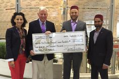 Ontario Muslims raise $100K for cancer research for a top hospital in Toronto. More here: