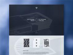WIP: Dark Diamond Homepage