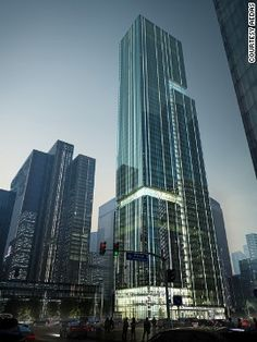 There'll be offices and restaurants, as well as a boutique hotel, in the future Bravo Group Pazhou Mixed-use Tower in Guangzhou, China.<!-- --> </br><strong>Category: </strong>Office (future projects)<!-- --> </br><strong>Architects: </strong>Aedas (Hong Kong S.A.R., China)