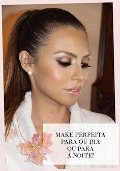 Inspiração de maquiagem para noivas de todos os estilos, para eventos a noite ou de dia.
