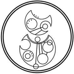 """Impossible Girl"" written in circular Gallifreyan requested by beatnikdinosaur"