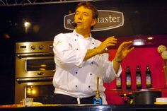 Cooking in the demonstration theatre at the Royal Show 2006?  #chefkevinashton #royalshow #demonstrations