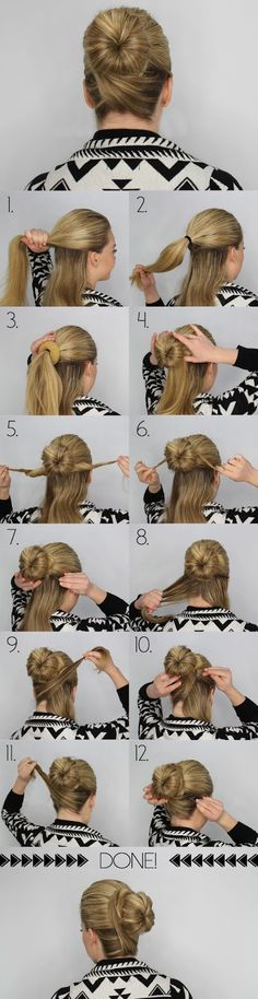 Easy Five Minutes hair Tutorials | trends4everyone