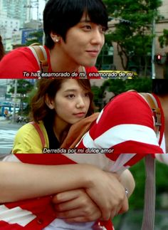 Heartstrings Fallen For Me/ Stars In Your Eyes lyrics. I couldn't help but smile at these scenes :) Lee Jung, Jung Yong Hwa, Korean Actresses, Korean Actors, Your Eyes Lyrics, Baek Seung Jo, Asian Fever, Goong, Lee Jong Hyun