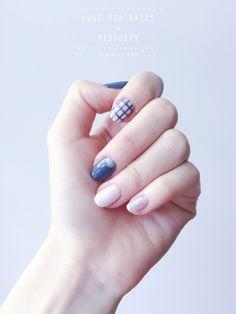 Minimalist Nail, Grey Nails, Gel Nails