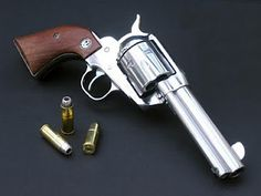 Ruger Vaquero.  I use mine for Cowboy Mounted Shooting.