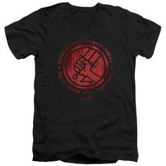"""Checkout our #LicensedGear products FREE SHIPPING + 10% OFF Coupon Code """"Official"""" Hellboy Ii / Bprd Logo - Short Sleeve Adult V-neck - Hellboy Ii / Bprd Logo - Short Sleeve Adult V-neck - Price: $34.99. Buy now at https://officiallylicensedgear.com/hellboy-ii-bprd-logo-short-sleeve-adult-v-neck"""