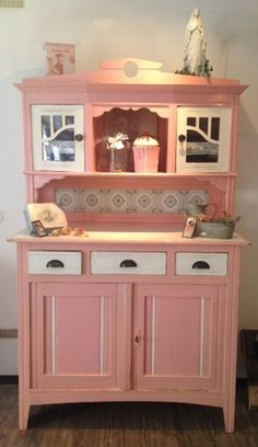 2 part old kitchen buffet France Rosè from COMING HOME – For a nice … – Toptrendpin Cottage Furniture, Kid Room Decor, Painting Old Furniture, Furniture Makeover, Kitchen Buffet, Furniture, Home Decor, Shabby Chic Homes, Cute Furniture