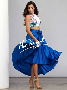 So ready for prom in my MacDuggal dress