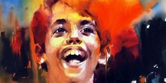 Taare Zameen Par - Como Estrelas Na Terra Watercolor Artists, Watercolor Portraits, Watercolor Techniques, Watercolor Paintings, Watercolours, Painting Art, Taare Zameen Par, Like Stars On Earth, Portrait Art