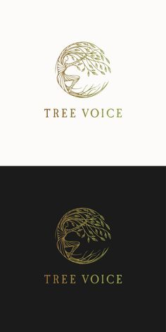 Hand drawn logo design for a person connected to the tree :) | 99designs