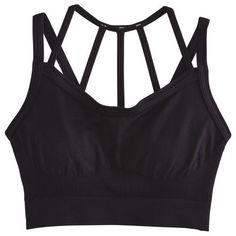 46bf0ee0e8 CALIA by Carrie Underwood Women s Inner Power Strappy Halter Seamless Sports  Bra