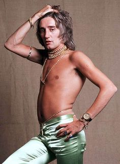 (This one's for all the ladies out there!)   Do Ya Think He's Sexy?: Embarassingly Awesome Pics Of Rod Stewart (Semi-NSFW)
