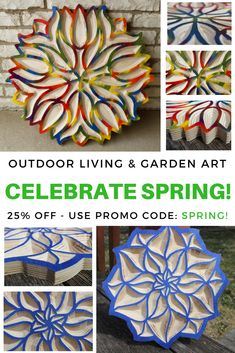 2018 Spring has Sprung! Let's celebrate with 25% off TRUE STOCK STUDIOS Outdoor Living & Garden Art collection! Sale ends April 30th so act fast! Use Promo Code: SPRING!