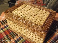 Плетение - из газетных трубочек-8