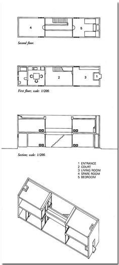 1000 images about plans on pinterest louis kahn for Site plan dimensions