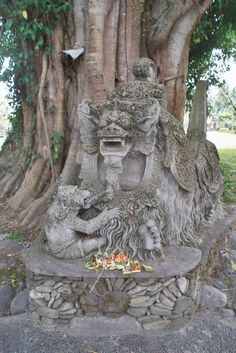 Barong statue in Ubud, Bali, Indonesia #asean #historic #statue #mustsee #attraction #activity #holiday