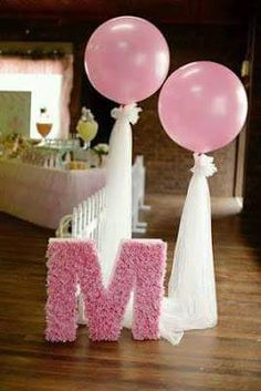 Ling's moment Giant Pink Balloons + Paper Tassel Tail Garland Banner for Wedding Bridal Shower Baby Shower Birthday (gold+pink+white) Pink Balloons, Wedding Balloons, Baby Shower Balloons, Ballons With Tulle, Birthday Decorations, Baby Shower Decorations, Birthday Party Themes, Ballerina Party Decorations, Birthday Ideas
