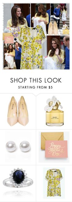 """""""Happy Mother's Day!"""" by fashionistajane1 ❤ liked on Polyvore featuring Royal Baby, Marc Jacobs, Nouv-Elle and Ann Taylor"""