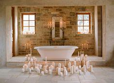 Candlelit bathroom | photography by http://elizabethmessina.com/