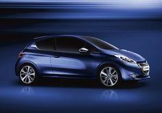Peugeot 208 3-dörrars: snabb, effektiv och tyst - den nya generationen med Stop & Start-system.