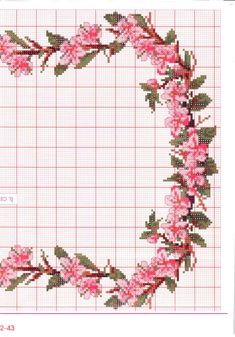 Cross Stitch Rose, Cross Stitch Borders, Cross Stitch Flowers, Cross Stitching, Cross Stitch Patterns, Embroidery Art, Cross Stitch Embroidery, Embroidery Designs, Needlepoint Patterns