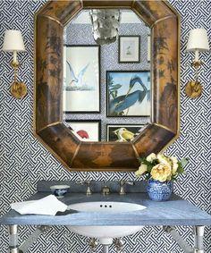 China Seas Java Grande wallpaper in House Beautiful May 2016