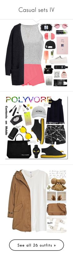 """""""Casual sets IV"""" by sophievilla ❤ liked on Polyvore featuring Eloqueen, Kenny & Co., Illesteva, Pelle, Kat Von D, Diptyque, Byredo, Korres, Pangmama and Spring"""