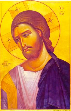 Whispers of an Immortalist: Icons of Our Lord Jesus Christ 15 Byzantine Art, Byzantine Icons, Jesus Face, God Jesus, Religious Icons, Religious Art, Greek Icons, Religion, Art Icon
