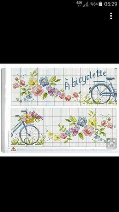 Discover thousands of images about İsim: Görüntüleme: 2690 Büyüklük: KB (Kilobyte) Ribbon Embroidery, Embroidery Stitches, Cross Stitch Designs, Cross Stitch Patterns, Cross Stitch Kitchen, Yarn Shop, Bargello, Cross Stitch Flowers, Easy Crochet Patterns